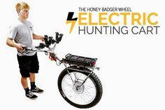 Electric Honey Badger Wheel   Big Game Cart for Hunting Elk and Deer