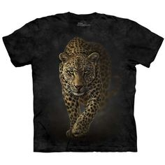 SAVAGE Spotted Leopard T-Shirt The Mountain Big Cats Mens Sizes S-5XL NEW! #TheMountain #leopard #spottedleopard #bigcats #graphictee
