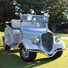 Streetrod Vintage Convertible Passenger Electric Golf Cart from Costco Big Trucks, Chevy Trucks, Truck Drivers, Dually Trucks, Semi Trucks, Pickup Trucks, Golf Cart Bodies, Convertible, Rat Rod Pickup