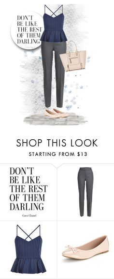 """""""Don't Be Like The Rest"""" by xmikky ❤ liked on Polyvore featuring Marc by Marc Jacobs and New Look"""