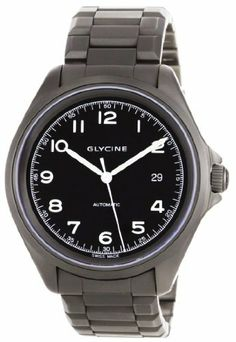 Glycine Combat 7 Automatic Black Dial on Bracelet Glycine. $995.00. Sandblasted stainless steel case. Rugged 42mm Case. Sophisticated military dial. Exhibition case back. Superluminova markings