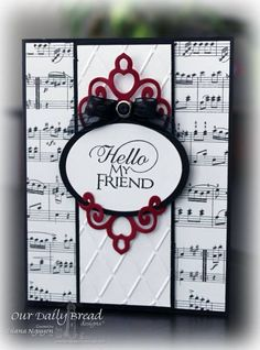 Hello, Myf friend by YoursTruly - Cards and Paper Crafts at Splitcoaststampers