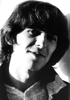 pensive and lovely, George Harrison.