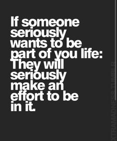 Truer words were never spoken. You can waste so much of your time trying to make people happy who would spend none of their time doing the same for you. Life is too short.