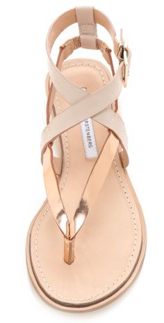 Diane von Furstenberg Dottie Wedge Sandals | SHOPBOP