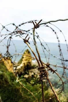 Barbed Wire Around Your Heart   Omaha Beach, France   -M.