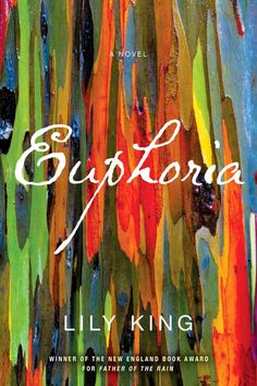 Euphoria, Lily King (design by Chin Yee Lai)  Another great cover for a great book. The excess of texture and color suits the title.