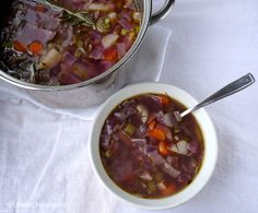 Vegetable Soup -- Un