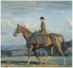 Munnings Horse Paintings | Munnings is just one of many great British equestrian artists