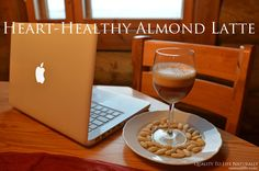 Delicious Almond Latte Recipe. Easy step by step recipe with photos.