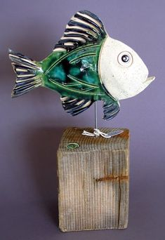 the artist and the tartist: Driftwood and Ceramics