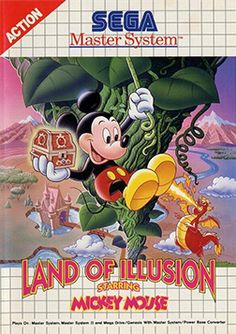 Land of Illusion starring Mickey Mouse - platform game released by Sega for the…