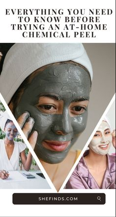 Find out everything you need to know about at home chemical peels on SHEfinds.com. Chemical Peel At Home, Waxing Poetic, Layers Of Skin, Makeup Guide, Beauty Advice, Drugstore Makeup, Skin Makeup, Blog Tips, Skin Care Tips