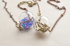 {moimoi}我的透明星球系列 - 項鏈 飾品 配件 金工 手工珠寶 耳環 手鍊 玻璃項鍊 星球項鏈 Pinkoi 好日推好物