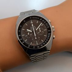 Second Time Around Vintage Watch: 1968 OMEGA Speedmaster Professional Mark II 146.014 Stainless Steel