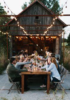 Ideas For Backyard Garden Wedding Reception Rehearsal Dinners Outdoor Dinner Parties, Outdoor Entertaining, Fall Harvest, Rehearsal Dinners, Outdoor Dining, Outdoor Harvest Table, Backyard, In This Moment, Decoration