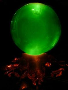 Make a real Witch's Crystal Ball for Halloween (Full Tutorial)