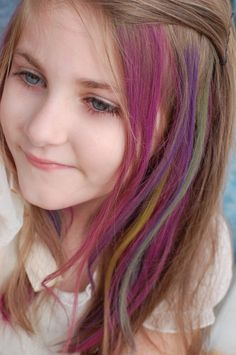Temporary Color Hair Dye For Kids