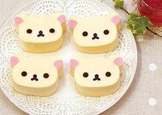 Kawaii Japan: Kawaii Cute Korilakkuma Cheesecake Japanese Food ♥ Dessert