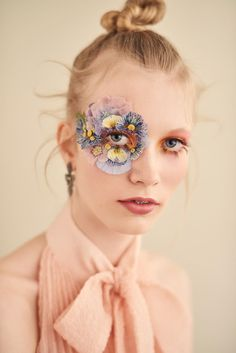Retouch for ph. Henrik Adamsen for Ugly Magazine : Retouch for ph. Henrik Adamsen for Ugly Magazine on Behance Makeup Inspo, Makeup Inspiration, Flower Makeup, Make Up Art, Beauty Shoot, Maquillage Halloween, Aesthetic Makeup, Eye Art, Makeup Looks