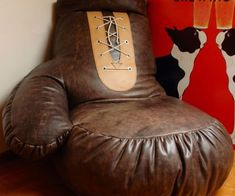 Boxing Glove Bean Bag Chair - http://tiwib.co/boxing-glove-bean-bag-chair-2/ #Furniture