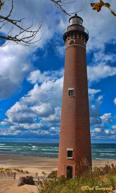 Little Sable Point Light - Michigan has lighthouses! Not something that immediately comes to mind when you think about Michigan.