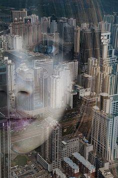 """Découvrez l'incroyable série """"City Silhouettes""""de #JasperJames ! Les photos de cette série ont été réalisées en combinant 2 clichés en #surimpression avec talent!"""