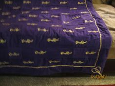 Jackets I created from crown royal bags took 200 | Creation of ... : crown royal bag quilt - Adamdwight.com
