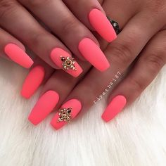 Go bright or go home #nails