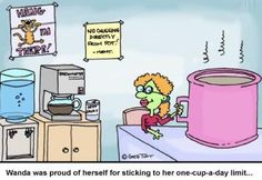 Coffee Morning One Cup Per Day Lol Funny Laughs Laughing Cartoon ...