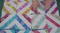 """✵+Sew+a+""""Summer+in+the+Park""""+Quilt+Using+Fabric+Strips+from+Missouri+Star+Quilt+Co.+✵+++6+More+Strip+Quilting+Projects..FREE TUTORIALS!  This is a great site!"""