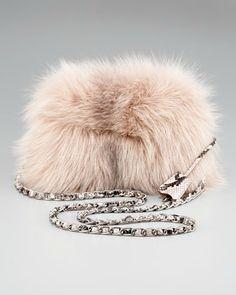 Prada - Fox Fur Clutch