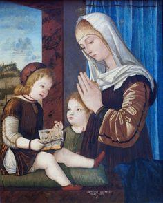 Vittore Carpaccio, Madonna mit Kind und dem Johannesknaben (Virgin with Child and the Infant St. John)