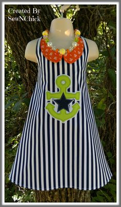 Anchors Away by SewNChick on Etsy