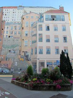 Murs peints de Lyon, Croix Rousse