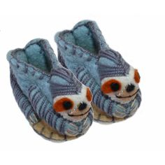 Sloth Zooties Baby Booties - Fair Trade - #fairtrade #shopfairtrade #thisbluesea #shoes #apparel #booties #toddler #toddlers #footware #felted #felt #kids #boots #infants #baby  Outrageously cute, this pair of felt baby booties are handmade in Kyrgyzstan by a women's cooperative. For infants ages 0-12 months, the actual size will vary depending on the design.  Meet the Artisans   	 		 			  			Silk Road Bazaar is a wholesale representative of marginalized artist groups located in Kyrgyzstan…