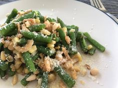Green Beans With Corn, Pine Nuts And Cranberries #RecipeIdeas