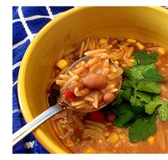 March recipes from Dr. McDougall (Thick and Creamy Taco Soup, Chickpea Pot Pie Lasagna)