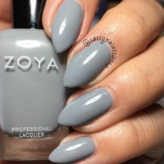 @zoyanailpolish August: a full coverage gray from the Urban Grunge one coat creams fall 2016 collection.  This is a super old pic I never got around to posting which is why my nails are so short. Just trying to clear out my digital albums.  #cute_polish #dailydigits #iloveyournailss #nailporn #nailpolish #nailstagram #nailsofinstagram #queennails #realnails #stilettonails #sassypaints2012 #SassyPaintsZoya #ZoyaNailPolish