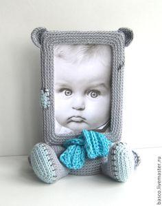"""Купить Фоторамка """"Мишка Тедди"""" - девочке, девушке, милый подарок, милая игрушка, фоторамка"""