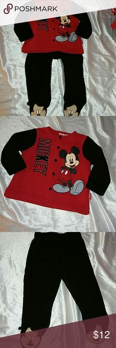 Sz 3-6mth Mickey Mouse outfit Sz 3-6mth Mickey Mouse outfit Disney Matching Sets