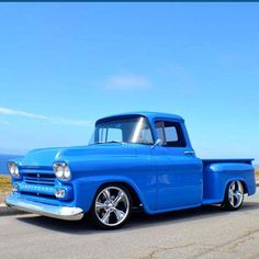 """""""Submission from @trendts58Chevy #58chevy #chevytruck #3100 #apache #truckporn"""""""