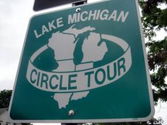The Lake Michigan Circle Tour is a designated scenic road system that circumnavigates Lake Michigan: excellent roads, huge sand dunes, beautiful vistas, fabulous beaches, and 100 historic lighthouses.