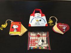 Vintage 1980s Snoopy Mini Starter Pack 1 by 80sVintageSnoopy