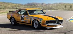 The 1970  Mustang Boss 302 Trans Am was a Bud Moore team car