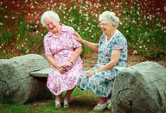 when we're old....you and I will still be laughing at everything