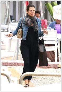 charlotte casiraghi Charlotte Casiraghi Style, Monaco Princess, Denim Fashion, Fashion Outfits, Summer Dress, She Walks In Beauty, Street Style, Royal Fashion, Spring Summer Fashion