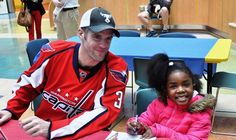Capitals at Children's National Medical Center - 02/15/2013 - Washington Capitals - Photos