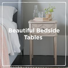 We have a super range of bedside tables. From French style, solid oak, gorgeous painted ones and metal bedside cabinets. Bedside Cabinet, Nightstand, Wooden Bedside Table, Bedside Tables, Solid Oak, Media Marketing, Social Media, Furniture, Beautiful
