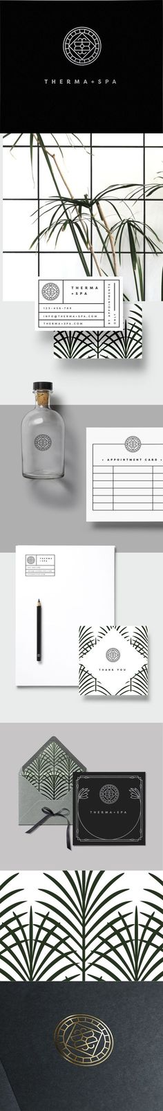Therma + Spa Branding by Loolaadesigns | Fivestar Branding Agency – Design and Branding Agency & Curated Inspiration Gallery